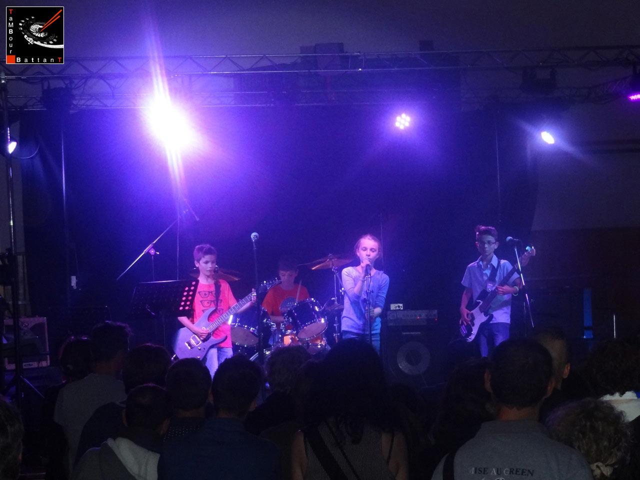 Tambour Battant concert à la salle des Haules à Etretat le 13 juin 2015