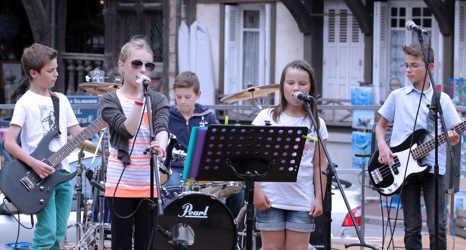 Concert à Etretat fête de la musique 2015