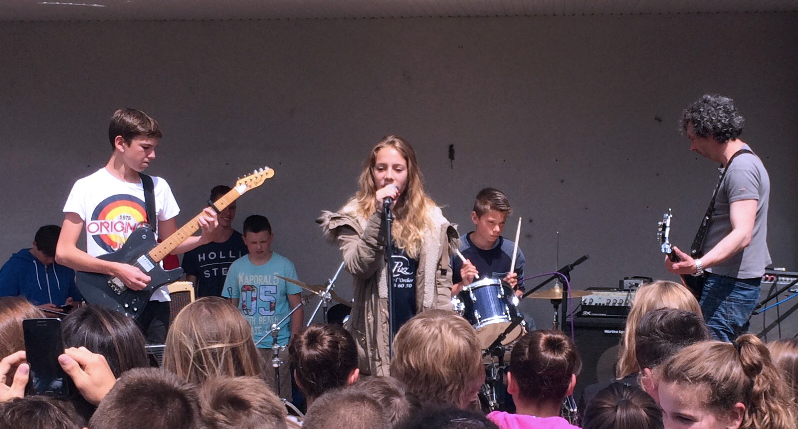 Concert à la Kermesse du collège