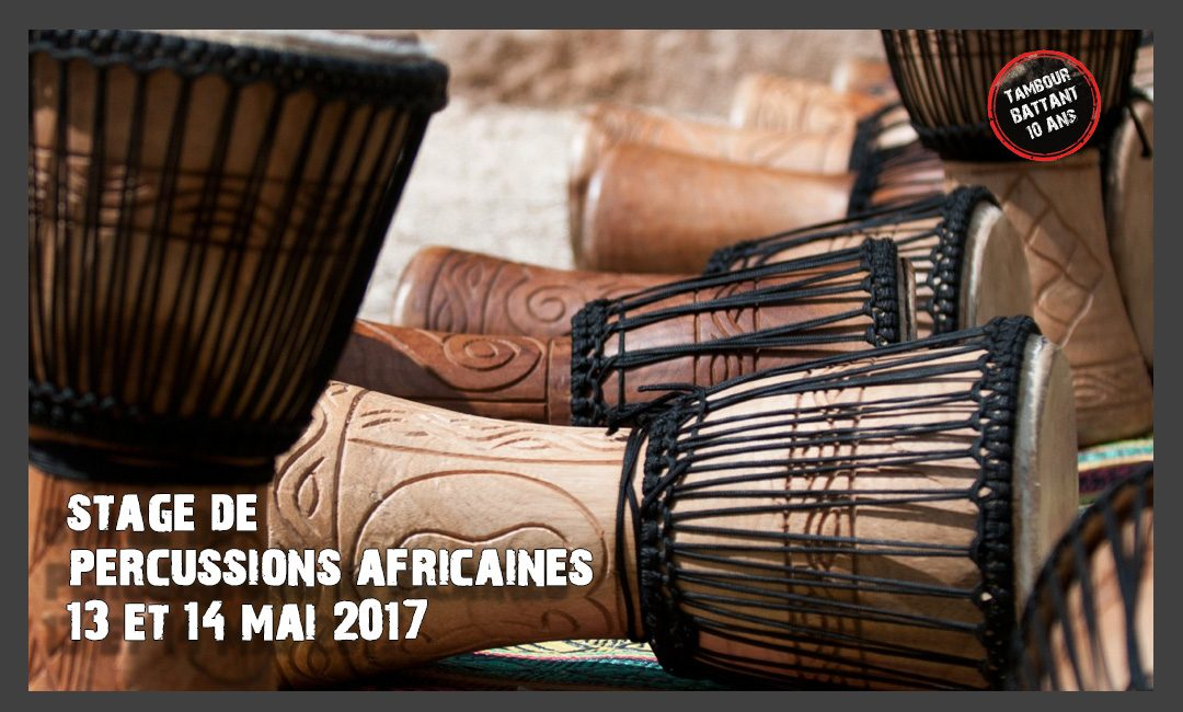 Stage de percussions africaines 2017