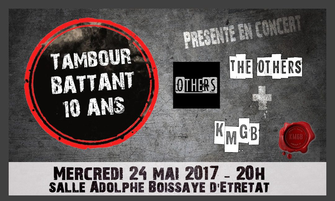 Concert Tambour Battant – KMGB et The Others