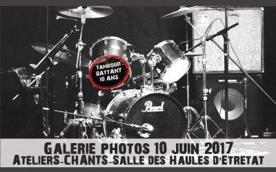 Concert fin d'année 10 juin 2017