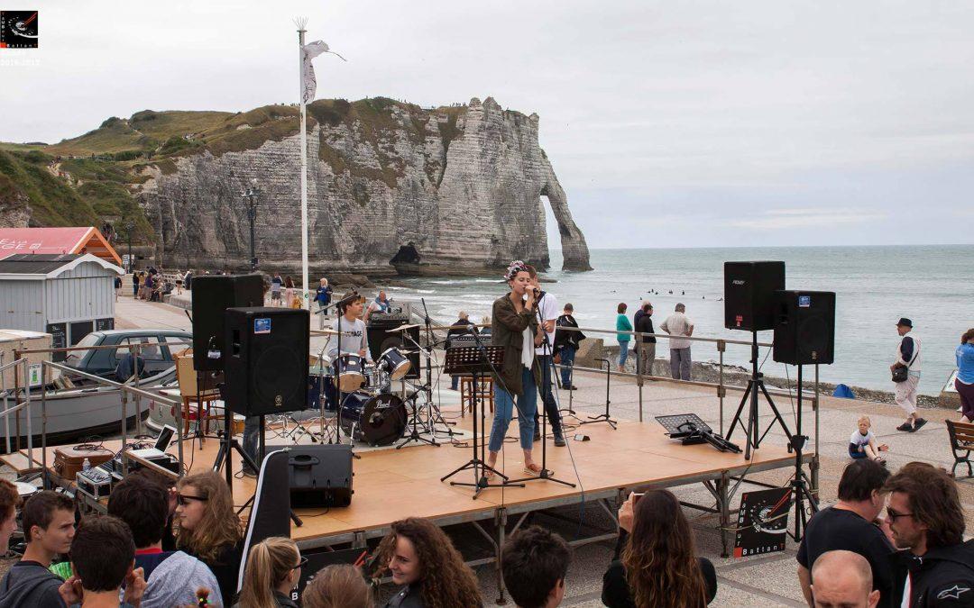 Concert fête de la musique 24 juin 2017, Etretat