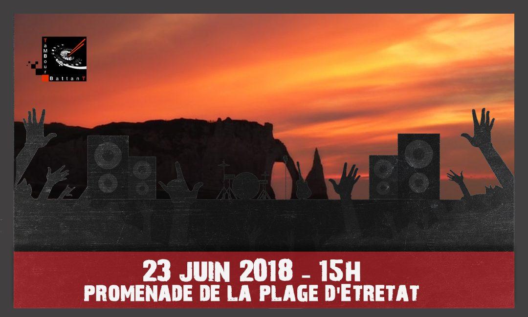 Concert fête de la musique 23 juin 2018, Etretat