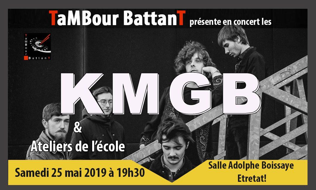Concert les KMGB 25 mai 2019, Etretat