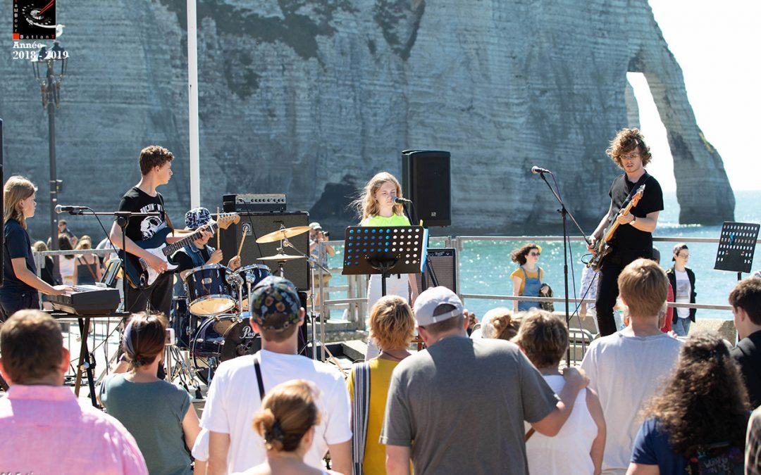 Concert Fête de la musique Etretat 22 juin 2019